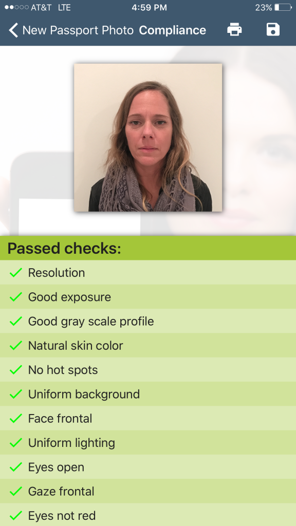 Good Exposure Settings Passport Photo Creator