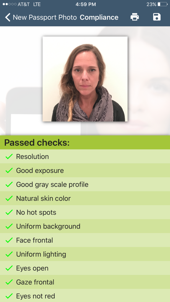 Exposure Settings Passport Photo Creator